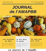 Journal de l'AMAP Boulogne Billancourt